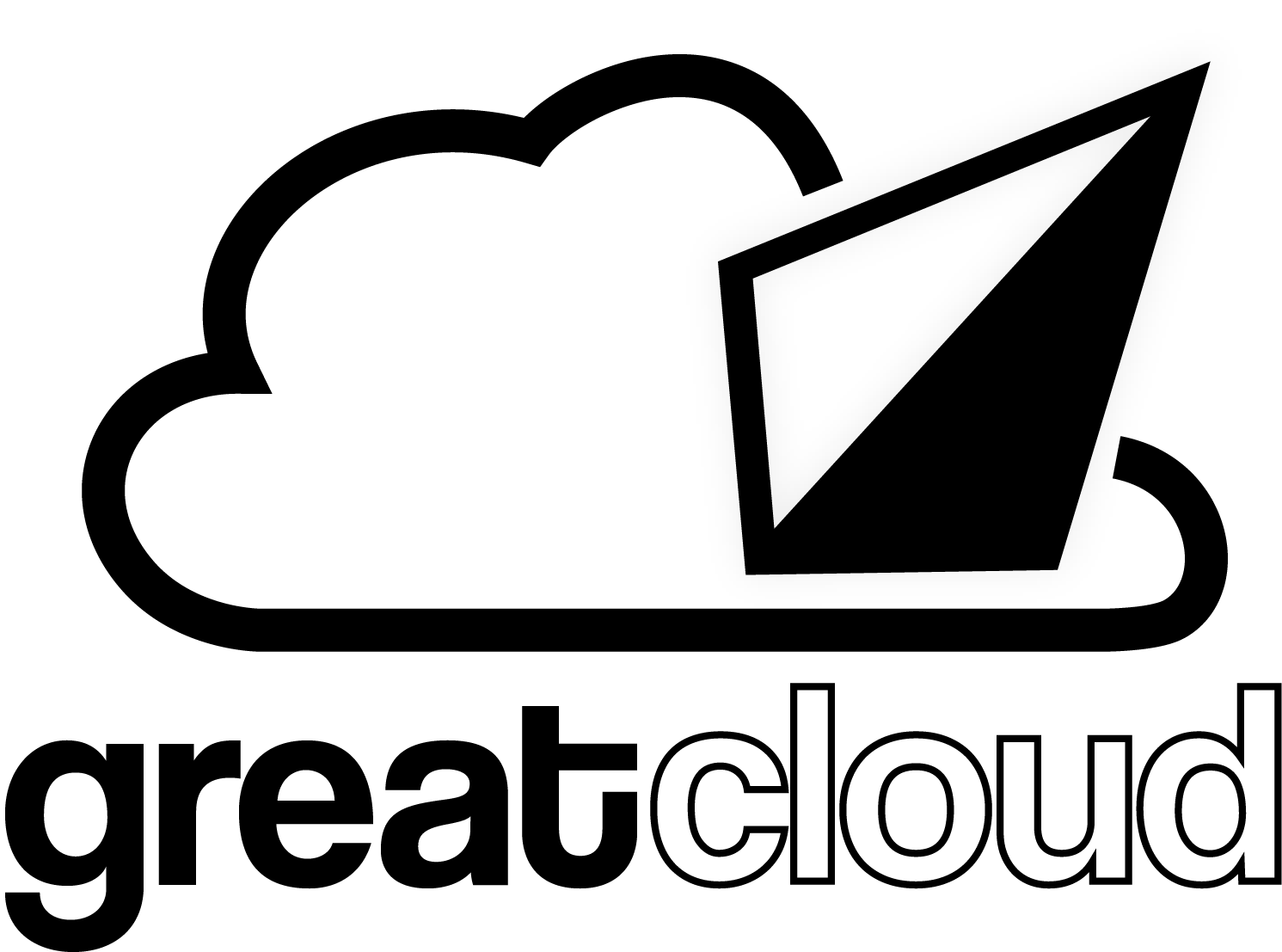 GREATCLOUD-WITH-TEXT in Black